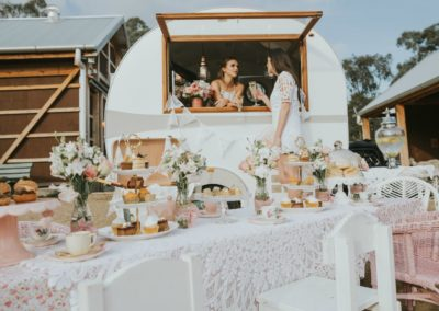 little mouse teahouse events vintage caravan melbourne wedding functions