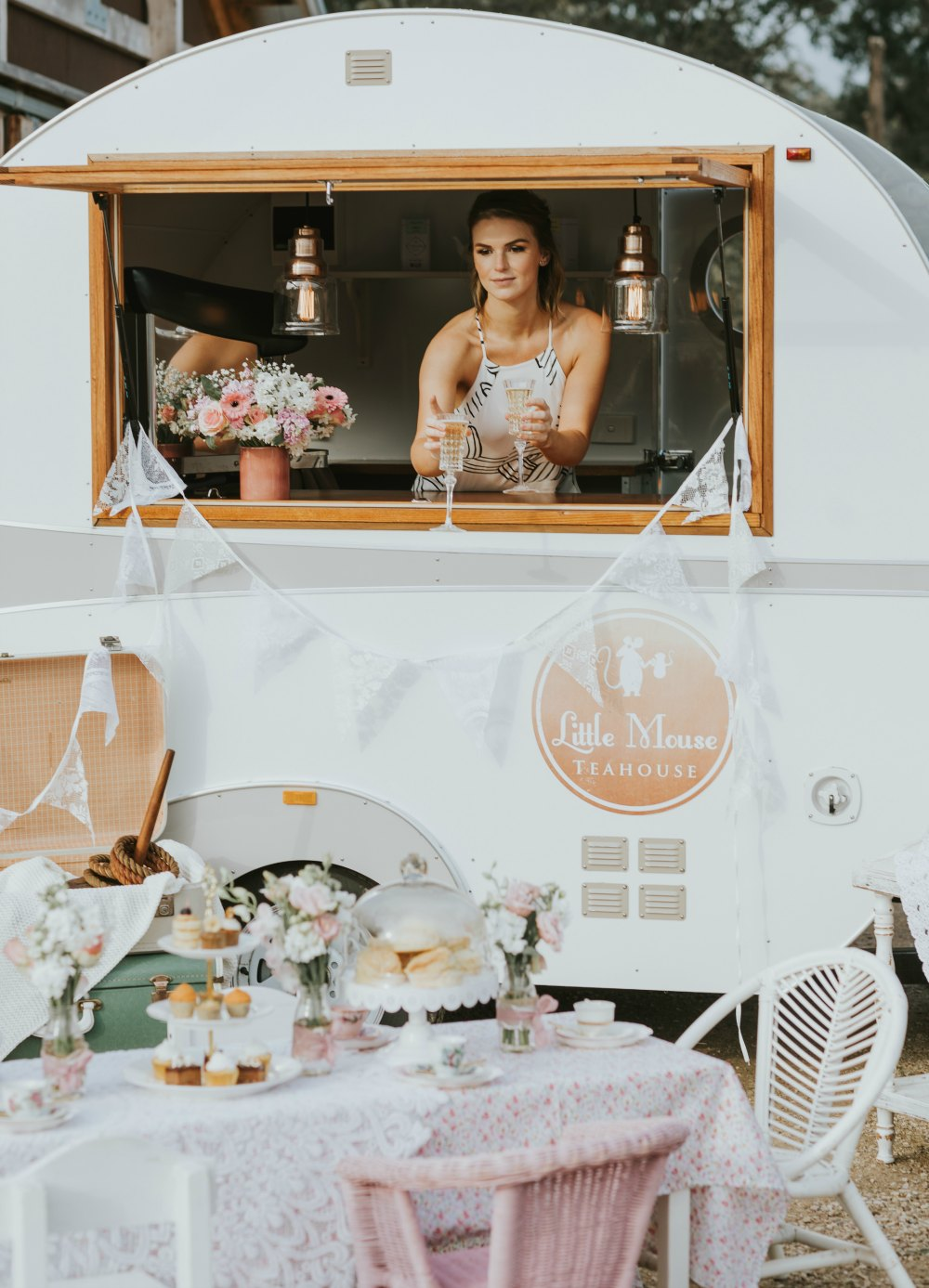 Vintage caravan for hire in Melbourne and surrounding regions.