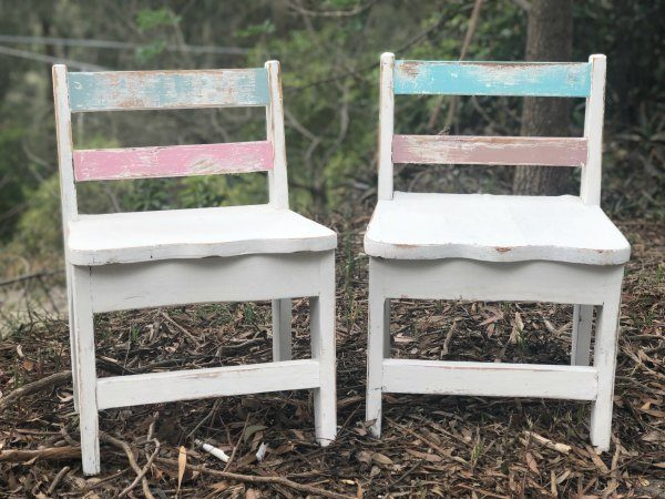 lmth kids vintage chairs for hire